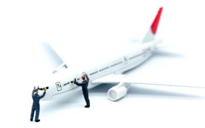 Reinigung von Flugzeugen auf Sylt